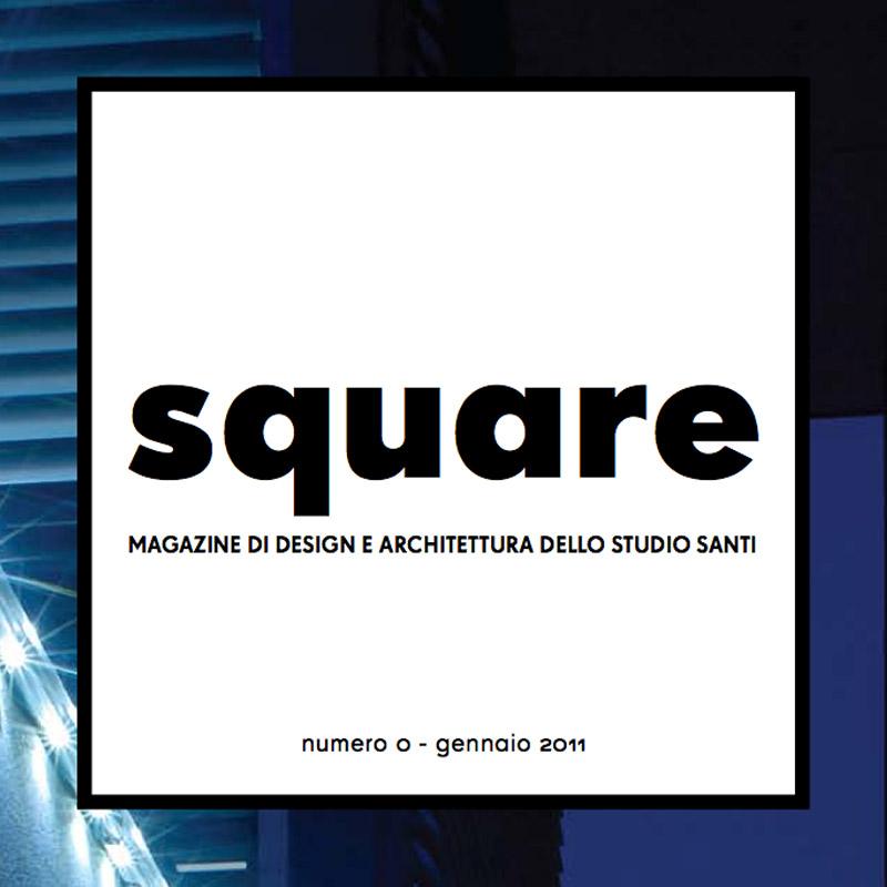 Square, il progetto editoriale per l'architettura