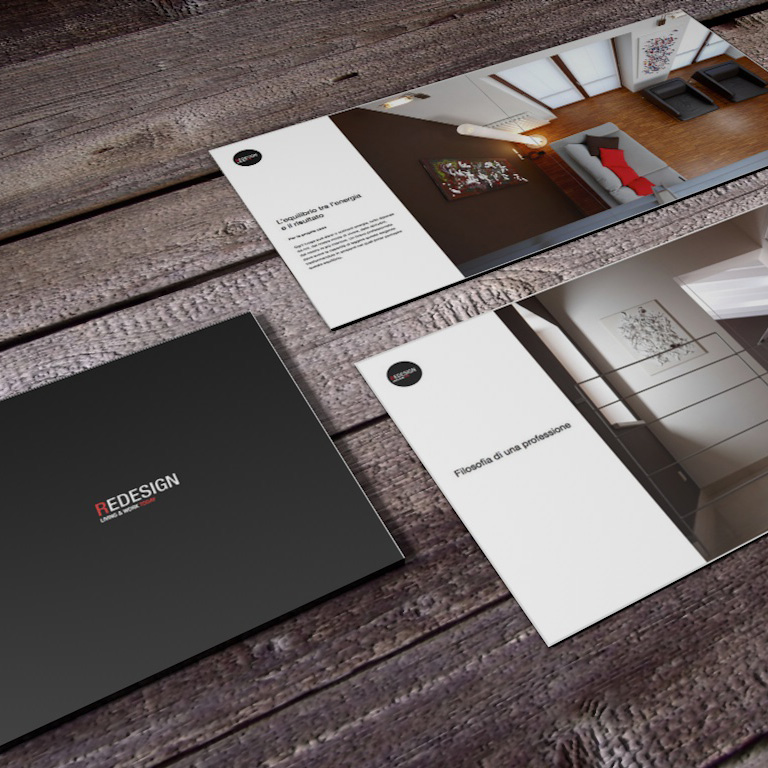 Redesign, spazio alla corporate identity